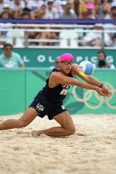 Olympic Gold for Men's Beach Volleyball in Atlanta (1996) Karch Kiraly (photo) and Kent Steffes
