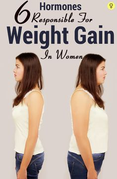 6 Hormones Responsible For Weight Gain In Women