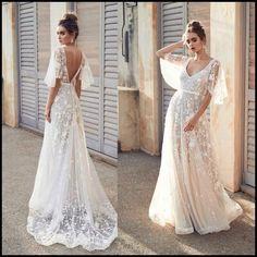 Cheap Wedding Dress, Boho Wedding Dress, Dream Wedding Dresses, Wedding Gowns, Flower Dresses, Prom Dresses, Summer Dresses, Dream Dress, Wedding Ideas
