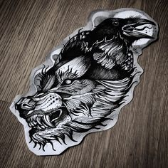 Viking Apparel that is inspired by Vikings and with Viking design, Now there's nothing stopping you from looking like a modern day Viking! Wolf Tattoo Design, Sketch Tattoo Design, Tattoo Sketches, Tattoo Drawings, Body Art Tattoos, Sleeve Tattoos, Tattoo Art, Wolf Tattoos, Black Tattoos