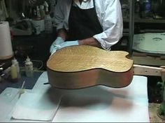 Epoxy Pore Filling Part Prep & Application of Third Coat and Prep for Finishi. - lutherie - Welcome Haar Design Guitar Humidifier, Guitar Building, Ukulele, Epoxy, Prepping, Third, Coat, Woodworking Projects, Workshop