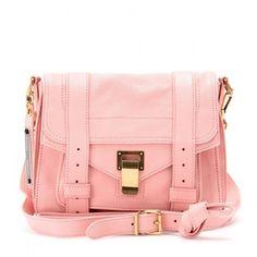 Super Cute Pink Leather Bag