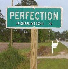 Let this be a lesson to us all--we are none of us perfect.