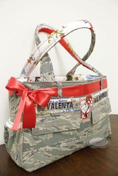 ABU/ACU Tye style Diaper bag.