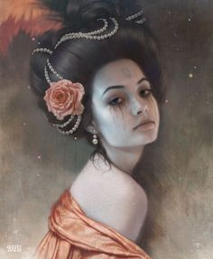 'Phul's Bride'-From the Black Lodge series of portraits, thanks so much to Kateryna Koshevoy for modelling!-