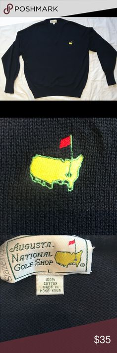 Augusta Golf Tournament Sweater Used but still in great quality. No signs of tear or stains Sweaters V-Neck