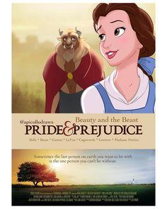 Artist reimagines famous films with Disney Princesses as the leads • GEEKSPIN Disney Crossovers, Disney Films, Disney And Dreamworks, Disney Cartoons, Disney Humor, Elle Woods, Uma Thurman, Meryl Streep, Clueless