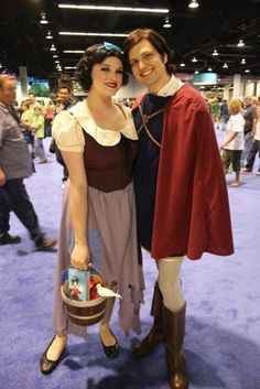 Princess Snow White and Prince Valient :) I would make them look a bit more tailored, but I love them!