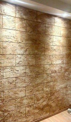 Tuscan Bathroom, Food Graphic Design, Italian Home, Plaster Walls, Beautiful Bathrooms, Textured Walls, Venetian, Hardwood Floors, Wall Decor