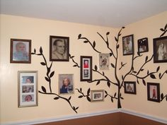 Neat family tree idea sent in to us by Lorrene. Blog entry coming soon!