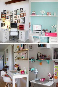 Como montar um home office em um espaço pequeno - Casinha Arrumada
