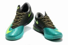 competitive price f203d 8f1b0 Nike KD VI Tropical Twist Volt Tarp Green 599424 200 Blue Shoes, Kd Shoes,