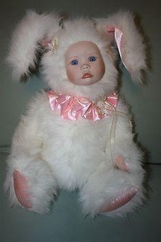 Marie Osmond Doll Website | Marie Osmond Porcelain Velvet of Velveteen Rabbit Collector Doll ...