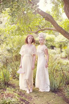 Exquisite vintage-inspired dresses by Uk designer, Sally Lacock.