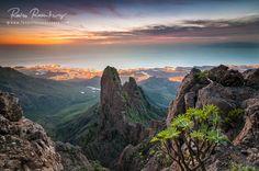 Views over las americas and Adeje, Tenerife