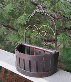 This is a wood splint and wrought iron half basket planter that could be used on a tabletop or hung on a wall inside or outside. 15 inches high 11 inches wide 4 inches high on the basket Great rustic decor. Baskets On Wall, Wall Basket, Rustic Wood, Rustic Decor, Book Page Crafts, Basket Planters, Container Flowers, Iron Wall, Etsy Shipping
