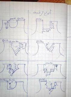 Váy ôm cổ tim - craftIdea.org Chudidhar Neck Designs, Neckline Designs, Techniques Couture, Sewing Techniques, Dress Sewing Patterns, Clothing Patterns, Blouse Patterns, Dressing Gown Pattern, Sewing Tutorials