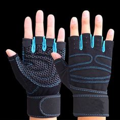 Tnine Body Building Weight lifting Fitness Gloves