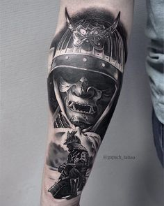Foto Tätowierung Dmitry Gapodchenko - pomysły na dziary - Japanese Tattoos For Men, Japanese Tattoo Art, Japanese Sleeve Tattoos, Best Sleeve Tattoos, Fake Tattoos, Body Art Tattoos, Tattoos For Guys, Cool Tattoos, Hannya Mask Tattoo