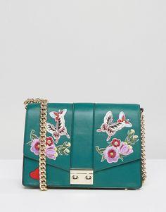 ASOS Butterfly Badge Shoulder Bag