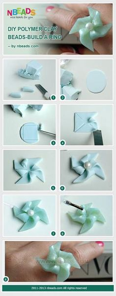 DIY Polymer Clay Beads - Build A Ring