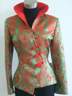 Chinese Fashion | China Traditional Chinese Clothes, Modern Jacket