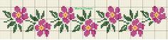 Cute Cross Stitch, Cross Stitch Borders, Cross Stitch Rose, Cross Stitch Samplers, Modern Cross Stitch Patterns, Cross Stitch Flowers, Counted Cross Stitch Patterns, Cross Stitch Designs, Cross Stitch Embroidery