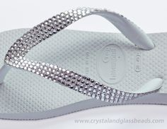 Swarovski Crystallized Havaianas Flip Flops Completed Tutorial which you can view here: http://www.crystalandglassbeads.com/blog/2012/how-to-make-swarovski-crystal-flip-flops-tutorial.html