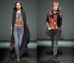 Desigual 2013-2014 Fall Winter Womens Runway Collection