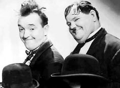 Two other Kings of Comedy. Laurel and Hardy. Laurel And Hardy, Stan Laurel Oliver Hardy, Tyrone Power, Errol Flynn, Humphrey Bogart, I Movie, Movie Stars, Comedy Duos, Great Comedies