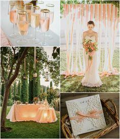 #peachwedding #lacewedding #weddinginvitations  Top 5 Stile Hochzeitseinladungen für Hochzeit 2016 | Hochzeitsblog Optimalkarten