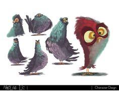 Nikolas Ilic: Designer / Visual Development Artist | Character Design ★ Find more at http://www.pinterest.com/competing/