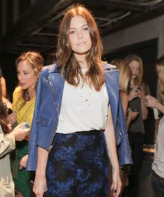 Is Mandy Moore Fashion Week's Surprise Style Star - i love this look!