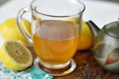 Lemon Ginger Tea : Tummy Tamer Tea  #ReliefMadeEasy AD