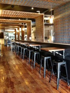 Promoting your restaurant on Pinterest: Keep your fans in the loop with snapshots of your renovations and new restaurant additions.