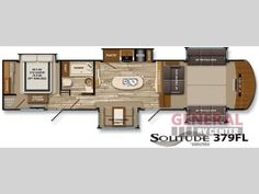 New 2016 Grand Design Solitude 379FL Fifth Wheel at General RV | Orange Park, FL | #127071