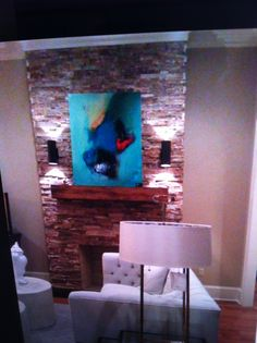 Brittany Lee Howard Art in the Home #decor #art #artist #abstractpainting