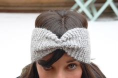 New Sewing Baby Hat Double Crochet Ideas Hat Patterns To Sew, Sewing Patterns For Kids, Diy Bandeau Tricot, Knitting Kits, Baby Knitting, Knitted Headband, Knitted Hats, Double Crochet, Knit Crochet
