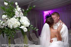 Romantic ending to a romantic day! #weddingphotography #lehighvalley #berkscounty #centralpa #poconos #celebrationspa #romantic #brideandgroom www.celebrationsdjphoto.com
