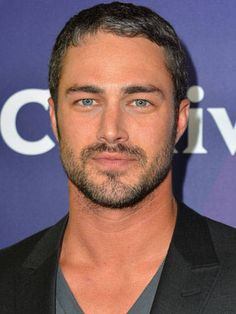 Taylor Kinney Something bout that beard and the salt and pepper hair. oh lawd
