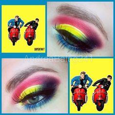 #Superfruit #FutureFriends EP inspired make-up