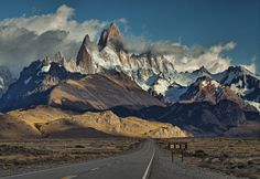 Photograph the road to Fitzroy by marion faria on 500px