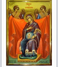 Icon of Panagia pregnant with Jesus