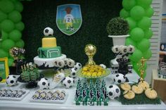 Soccer Birthday Party Ideas | Photo 6 of 6 | Catch My Party