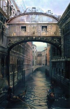 The Bridge of Sighs, Venice (Painting by Donna Lee Nyzio)