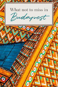 Was Sie in Budapest nicht verpassen sollten - What to do in Budapest - Deneme 1 Europe Travel Tips, Travel Advice, Travel Guides, Places To Travel, Travel Destinations, European Travel, Budget Travel, Visit Budapest, Budapest Hungary