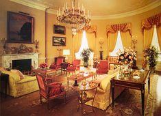 White House Rooms, White House Interior, White House Tour, White Rooms, White Houses, Interior And Exterior, Interior Design, Yellow Rooms, White House Washington Dc