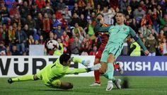 Cristiano Ronaldo, caído del cielo