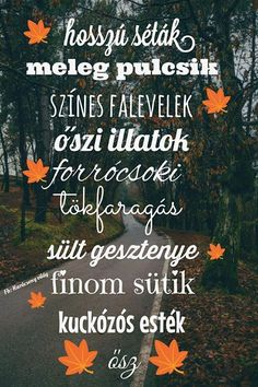 Ősz Fall Wallpaper, Nature Wallpaper, Fb Covers, Autumn Inspiration, Autumn Ideas, Fall Halloween, Cool Things To Make, Falling In Love, Life Quotes