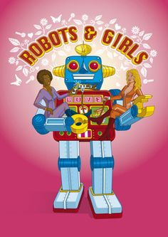 robots and girls